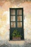 Janela colonial típica Imagens de Stock Royalty Free