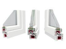 A janela da amostra Imagens de Stock Royalty Free