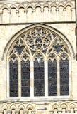 Janela da catedral Imagens de Stock