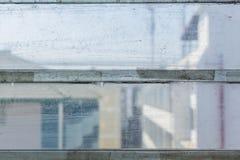 Janela da lâmina velha fotografia de stock