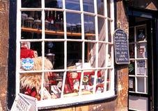 Janela da loja de Cotswold, lascando Campden Foto de Stock Royalty Free