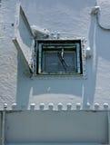Janela da navio de guerra Fotografia de Stock Royalty Free