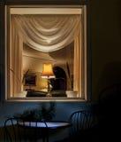 Janela da noite Foto de Stock