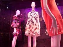 Janela de exposição de NYC, Manhattan, New York City, NY, EUA Foto de Stock Royalty Free