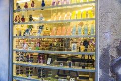 Janela de loja de artigos eletrônicos Fotos de Stock