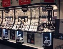 Janela de loja dos joalheiro Imagem de Stock Royalty Free