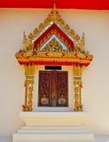 Janela de Tailândia Wat imagem de stock royalty free
