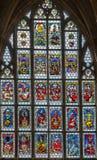 Janela de vidro colorido, Nuremberg, Alemanha Foto de Stock Royalty Free