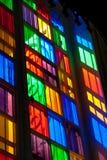 Janela de vidro da cor Imagens de Stock Royalty Free