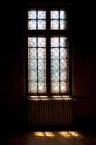 Janela de vitral Foto de Stock