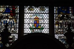 Janela de vitral de Richard 111 Imagem de Stock Royalty Free