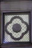 Janela decorativa no templo de Birla Fotografia de Stock Royalty Free