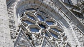 Janela dianteira da catedral Fotografia de Stock