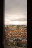 Janela do castelo de Heidelberg Fotografia de Stock