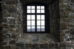 Janela do castelo de Holloko Fotografia de Stock