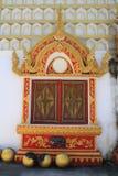 Janela do monastério Fotografia de Stock