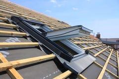 Janela do telhado Foto de Stock Royalty Free