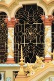 Janela do templo em Vietname Fotografia de Stock Royalty Free
