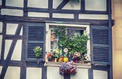Janela do verão de França Foto de Stock