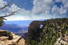 Janela dos anjos, borda norte de Grand Canyon Imagens de Stock Royalty Free