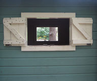 Janela em uma janela Imagem de Stock Royalty Free