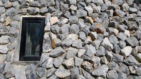 Janela em uma rocha Imagem de Stock