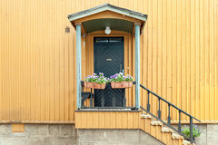 Janela finlandesa típica Fotos de Stock