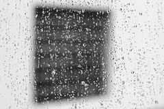 Janela fora da janela Foto de Stock