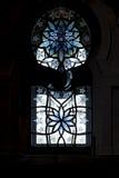 Janela grande da mesquita Fotografia de Stock Royalty Free