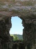 JANELA guerra mundial de Sommo do forte da primeira Foto de Stock