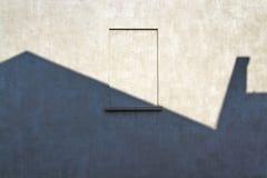 Janela murada-acima Imagens de Stock Royalty Free
