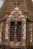 Janela na igreja de trindade Fotos de Stock Royalty Free
