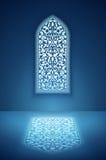 Janela na mesquita ilustração do vetor