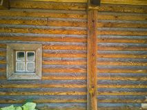 janela 68-Wooden Fotografia de Stock