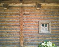 janela 70-Wooden Imagens de Stock
