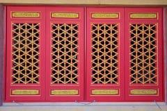Janelas chinesas imagens de stock