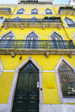 Janelas de Lisboa Fotografia de Stock Royalty Free