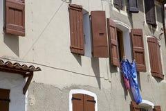 Janelas de Provence Foto de Stock