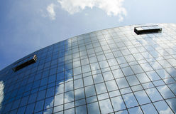 Janelas de vidro Fotografia de Stock Royalty Free