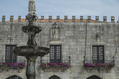 Janelas do castelo Imagem de Stock Royalty Free