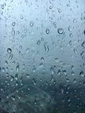 Janelas dos pingos de chuva Imagens de Stock Royalty Free