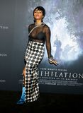 Janelle Monae. At the Los Angeles premiere of `Annihilation` held at the Regency Village Theater in Westwood, USA on February 13, 2018 Stock Photos