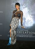 Janelle Monae. At the Los Angeles premiere of `Annihilation` held at the Regency Village Theater in Westwood, USA on February 13, 2018 Stock Photography