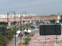 Janeshwar parkerar Lucknow arkivfoto
