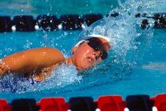 Janet Evans, Olympian de V.S. Royalty-vrije Stock Foto's