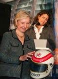 Janet Guthrie y Julia Foudy Foto de archivo