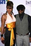 Janet Jackson Jermaine Dupri Royaltyfri Fotografi
