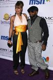 Janet Jackson, Jermaine Dupri Fotografía de archivo libre de regalías