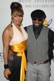 Janet Jackson, Jermaine Dupri Fotos de archivo libres de regalías
