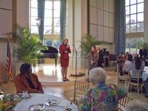 Janet McCain Huckabee royaltyfria bilder